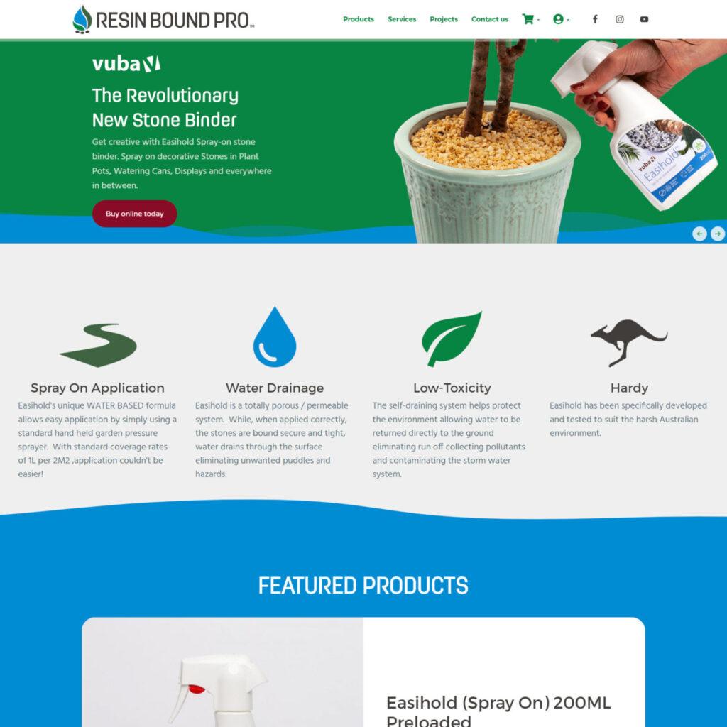 Resin Bound Pro Website