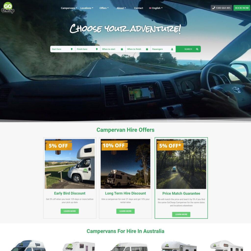 GoCheap Website