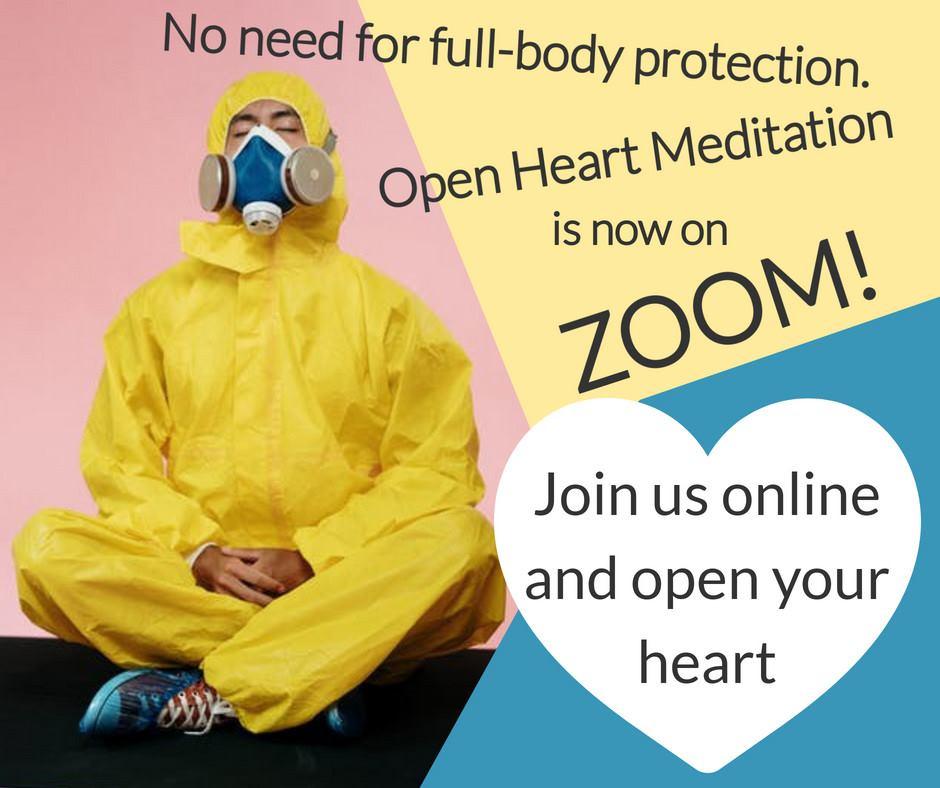 Meditation on Zoom Facebook Post